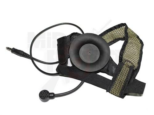 Гарнитура репл. Selex TASC1 Z-tactical черная