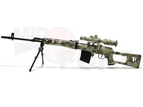Сувенирная сборная модель винтовки SVD ACU /1:6 масштаб