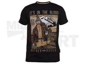 Футболка Mother Russia Сухов черный
