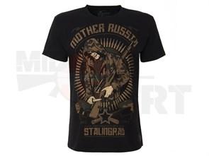 Футболка Mother Russia Сталинград черный