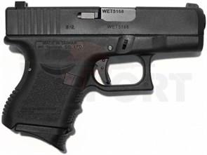 Пистолет газовый WE Glock 27 gen.3 блоубек, металл, грин-газ