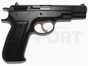 Пистолет газовый KJW CZ75 блоубек, металл, грин-газ /KP-09