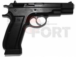Пистолет газовый KJW CZ75 блоубек, металл, CO2 /KP-09
