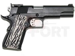Пистолет газовый WE Colt 1911 C-version блоубек, металл, 2 магазина, грин-газ