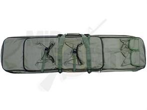 Чехол оружейный с подсумками и рюкзачн.лямками CM 120см олива
