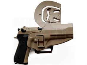Кобура поясная CM пластиковая для M92 / тан