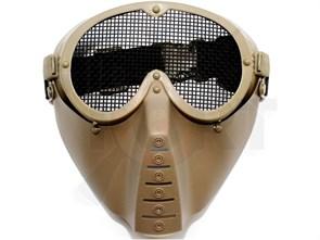 Маска защитная полнолицевая Vader V.2 тан