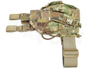 Кобура набедренная Ars Arma c подсумками  для Mk.23 SOCOM Multicam