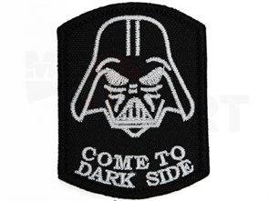 Нашивка Badband Come to dark side
