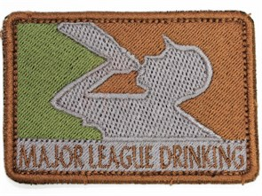 Нашивка Badband Major league drinking тан
