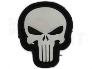 Нашивка Badband PVC Skull Seal