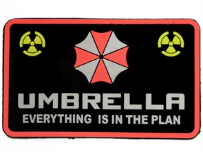 Нашивка Badband Umbrella everything is in the plan