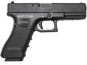 Пистолет газовый KJW Glock 17 металл, грин-газ