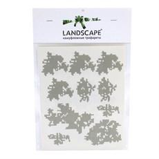 Трафареты для нанесения камуфляжа Landscape рис. ЕМР Digital flora