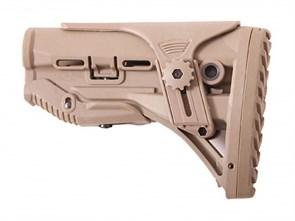 Приклад телескопический для M4 Emerson BD M4AR-15 GL Shock Stock desert