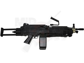 Привод A&K M249 PARA металл, укороченный, телескоп.приклад