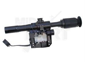 Прицел оптический реплика ПСО-1 с подсветкой
