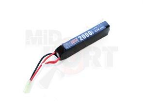 Аккумулятор 11.1В 2000мАч АК-тип LiPo 20С BlueMAX мини-разъем