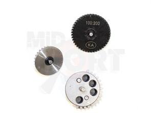 Шестерни стальные SHS 100:200 Low Noise High Torque