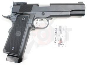 Пистолет газовый WE P14 блоубек, металл, CO2
