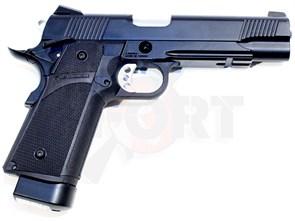 Пистолет газовый KJW Hi-Capa CO2 металл, CO2 /KP-05