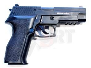 Пистолет газовый KJW SigSauer P226E2 блоубек, металл /KP-01E2