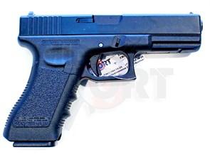 Пистолет газовый KSC Glock 17 блоубек, металл, грин-газ /G17