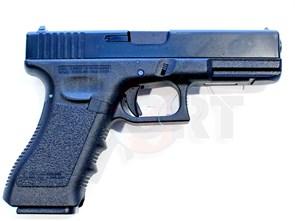 Пистолет газовый KSC Glock 18C блоубек, металл, грин-газ /G18C