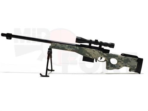 Сувенирная сборная модель винтовки AWP /1:6 масштаб - фото 17805