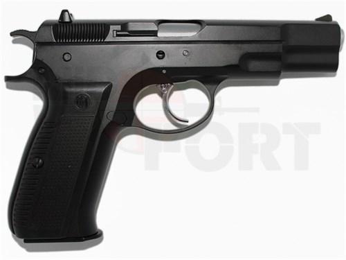 Пистолет газовый KJW CZ75 блоубек, металл, грин-газ /KP-09 - фото 20325