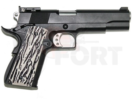 Пистолет газовый WE Colt 1911 C-version блоубек, металл, 2 магазина, грин-газ - фото 20343
