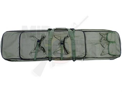 Чехол оружейный с подсумками и рюкзачн.лямками CM 120см олива - фото 20898