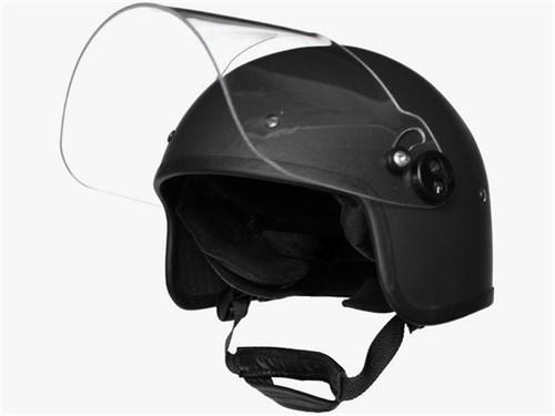 Шлем реплика ЗШ-1 с забралом черный - фото 21081