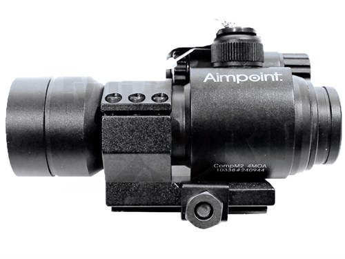 Прицел коллиматорный репл. Aimpoint M2 HD-1 Z Black Marking красная,зеленая точка, - фото 22285