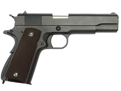 ПИСТОЛЕТ ГАЗОВЫЙ WE COLT 1911 A-VERSION БЛОУБЕК, МЕТАЛЛ, ГРИН-ГАЗ