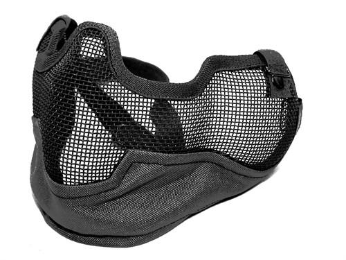 Маска на нижнюю часть лица и уши СТАЛКЕР V2 CM черная - фото 28300