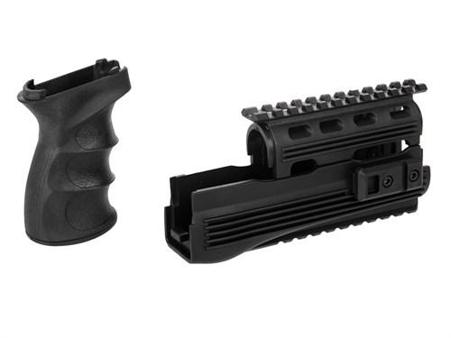 Цевье тактическое + пистолетная рукоять для АК CYMA /C49