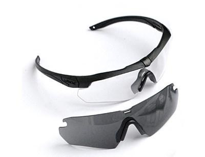 Очки ESS Crossbow 2 линзы /прозрачная, темная - фото 30601