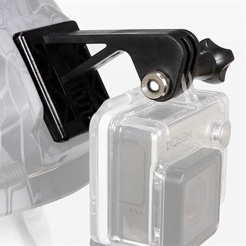 Крепление WST камеры Go Pro на шлем черный - фото 31552