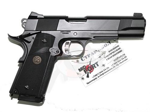 Пистолет газовый KJW MEU блоубек, металл, грин-газ /KP07