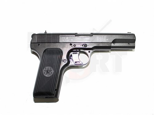 Пистолет газовый Gletcher TT-A металл, блоубек, CO2