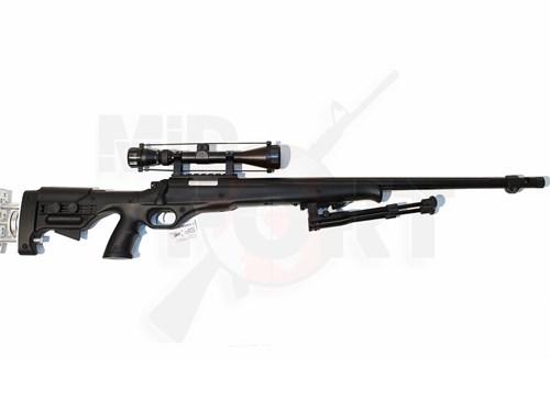 Болтовка спринг Well MB-12D сошки+оптика