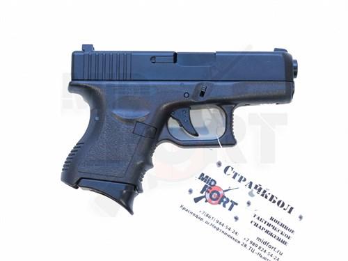Пистолет газовый KJW Glock 27 металл, грин-газ