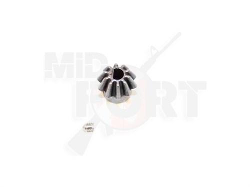 Шестерня на вал мотора стальная D-образная SHS /SHS-156