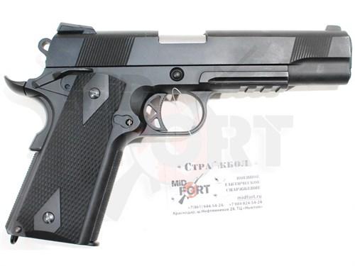 Пистолет газовый WE P14 блоубек, металл, грин-газ - фото 7353