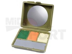 Грим камуфляжный ROTHCO 4 цвета с зеркалом