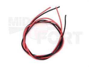 Силиконовый провод 16 AWG /красный 0.5м +черный 0.5м