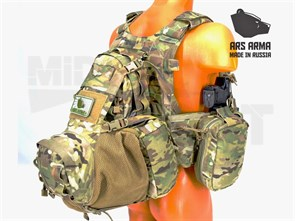 РЮКЗАК ARS ARMA BEAVER TAIL ASSAULT PACK / YOTE