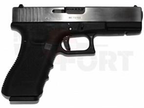 Пистолет газовый WE Glock 18C gen.3 авто, хром
