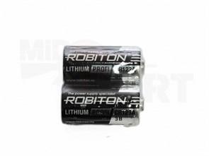 БАТАРЕЙКА CR123A ROBITON PROFI R SR2 2ШТ